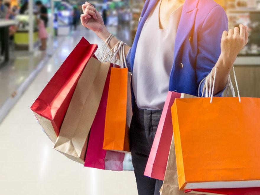 การเดินห้างซื้อของ