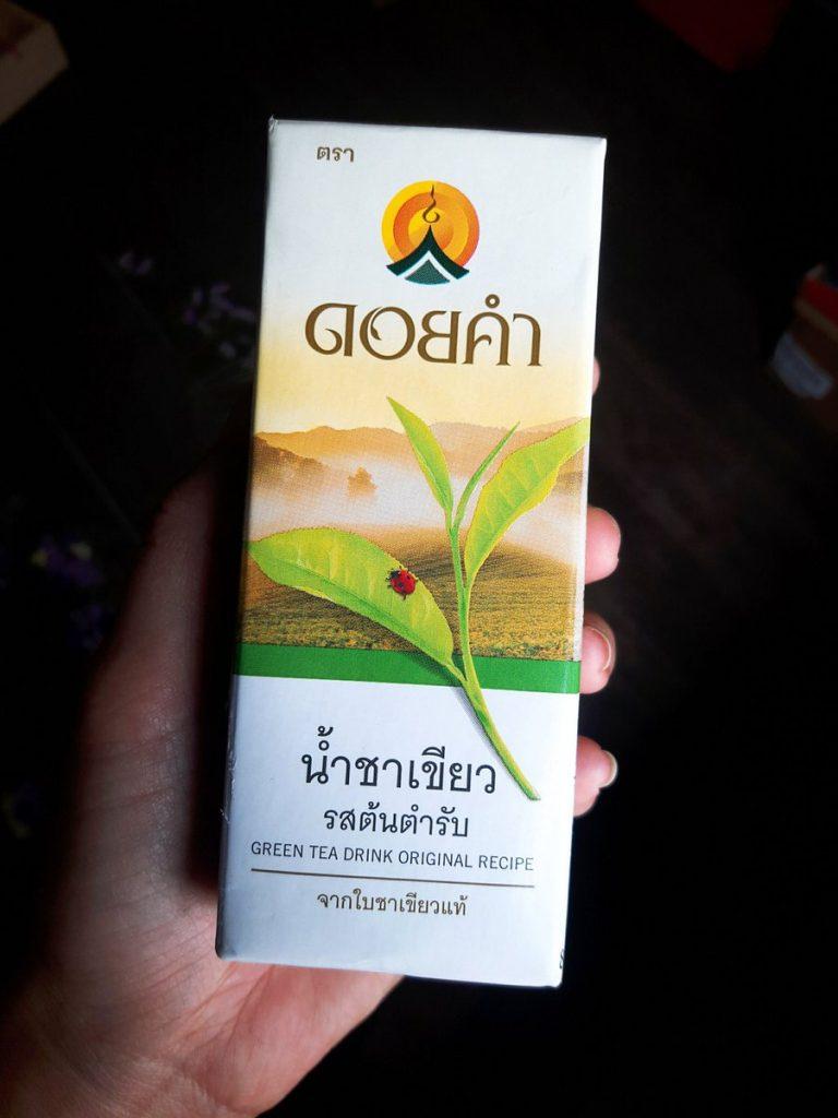 น้ำชาเขียวต้นตำหรับ