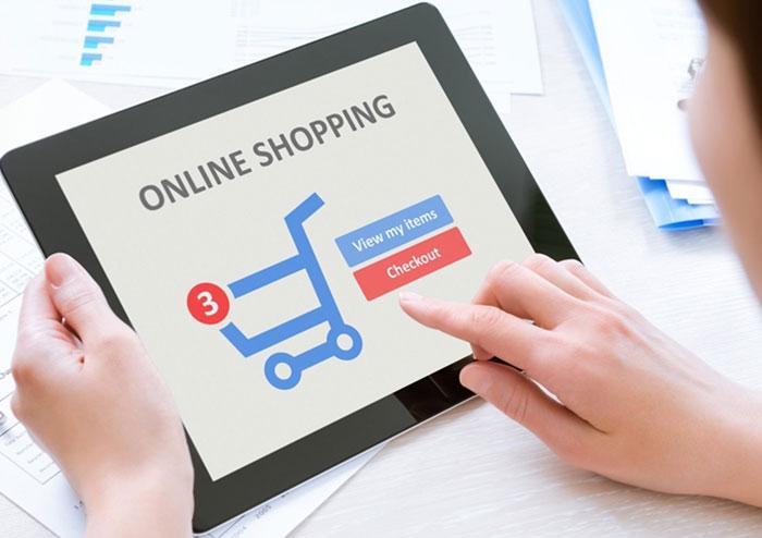 ซื้อสินค้าในระบบออนไลน์