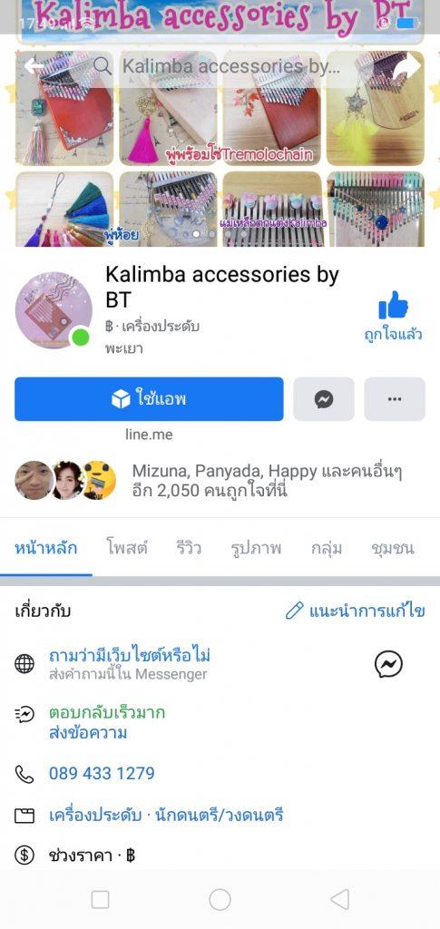 ของตกแต่ง คาลิมบ้า-Kailmba accessories by BT