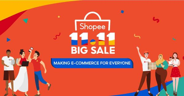 11.11 shopee ลดแหลกแจกกระจายโปรโมชั่นที่ดีมากในการช็อปซื้อสินค้าออนไลน์