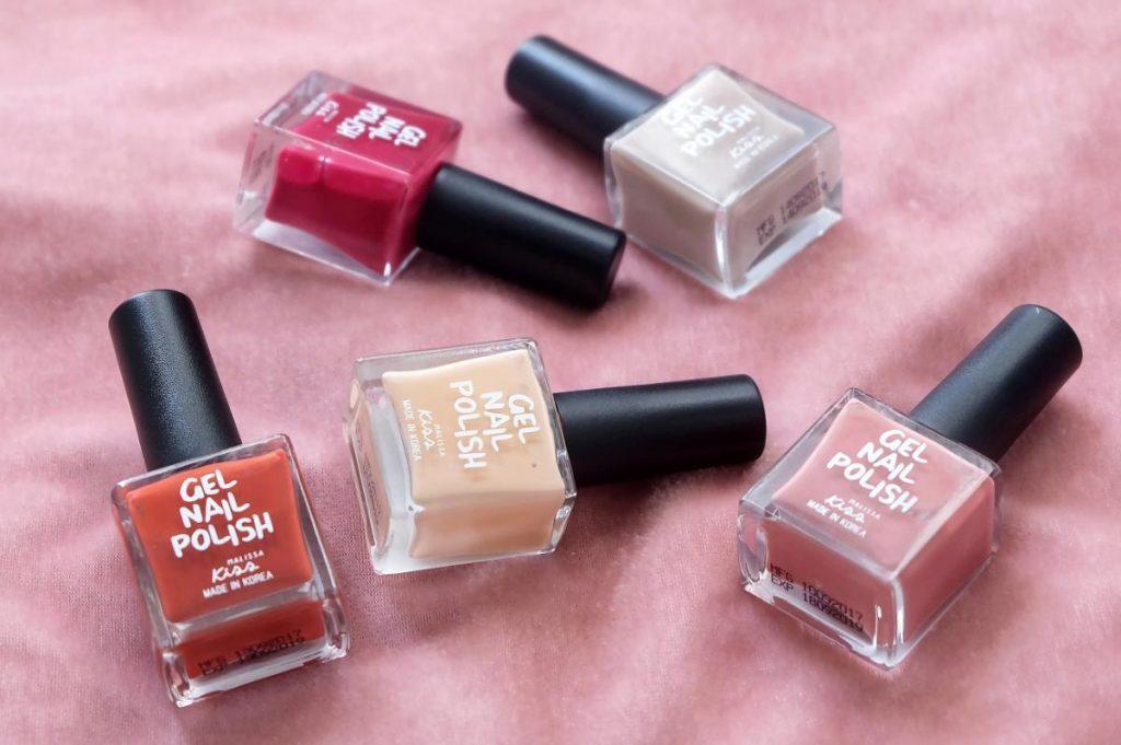 ยาทาเล็บเจลMalissa kiss  gel nail polish